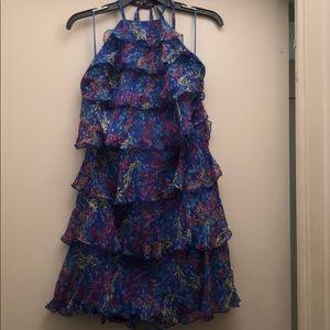 Saloni halter dress